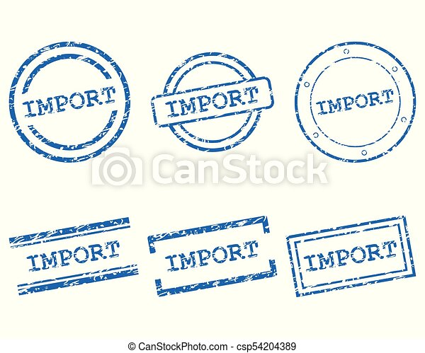importation, timbres - csp54204389