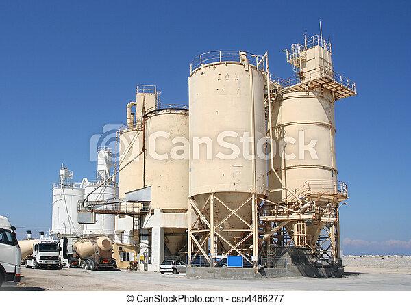 industrie, ciment - csp4486277