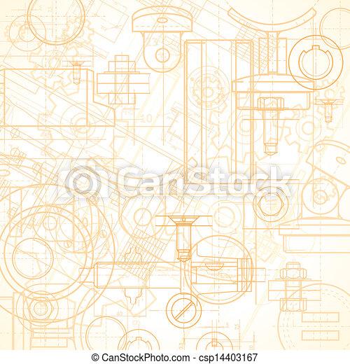 industriel, fond - csp14403167