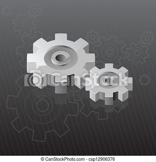 industriel, fond - csp12906376