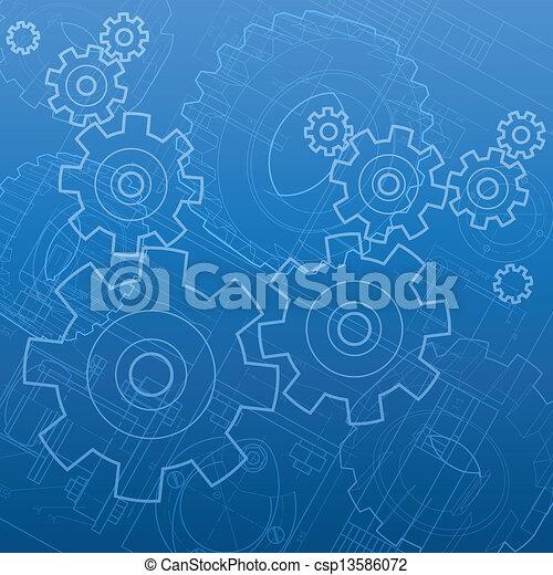 industriel, fond - csp13586072