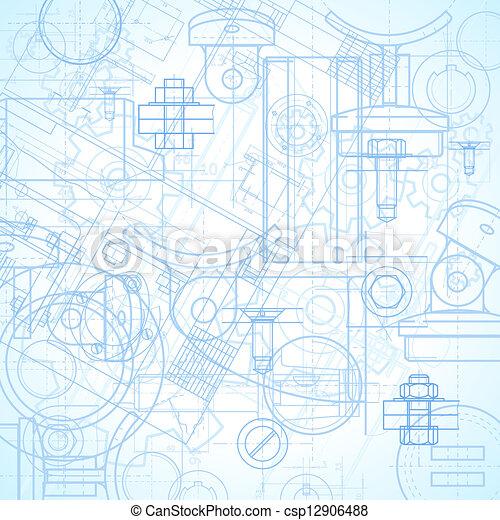 industriel, fond - csp12906488