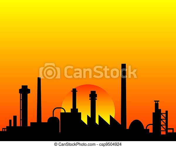 industriel, fond - csp9504924