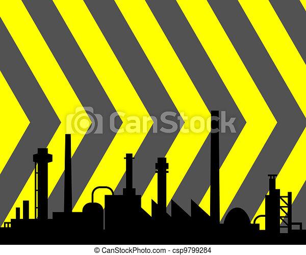 industriel, fond - csp9799284