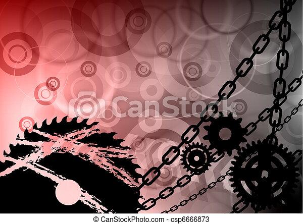 industriel, fond - csp6666873