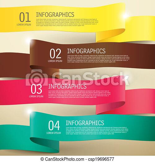 infographic, 3d, éléments, étiquette - csp19696577