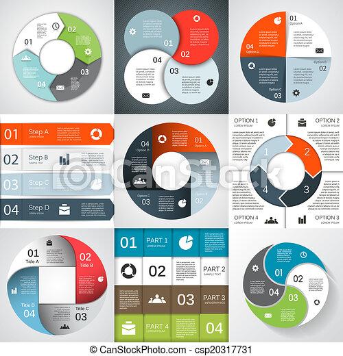 information, graphique, business, moderne, projet, vecteur - csp20317731