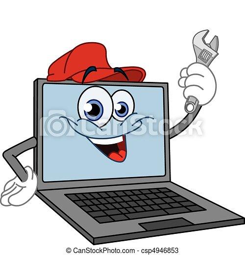 informatique, clé - csp4946853
