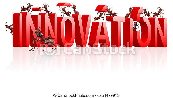 innovation, inventer, recherche - csp4479913