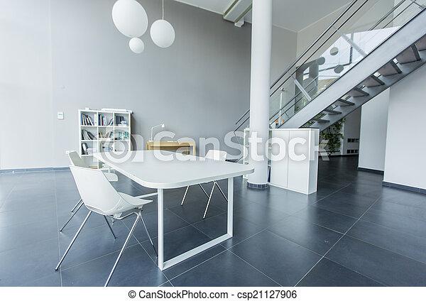 intérieur, moderne, bureau - csp21127906