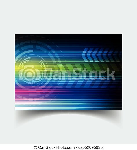 interface, hud., utilisateur - csp52095935