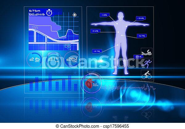 interface, monde médical - csp17596455