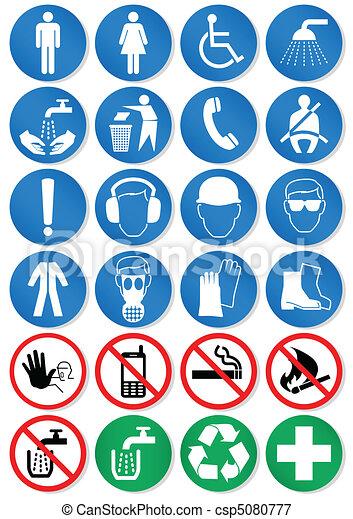 international, signs., communication - csp5080777