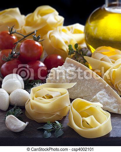 italien nourriture, ingrédients - csp4002101