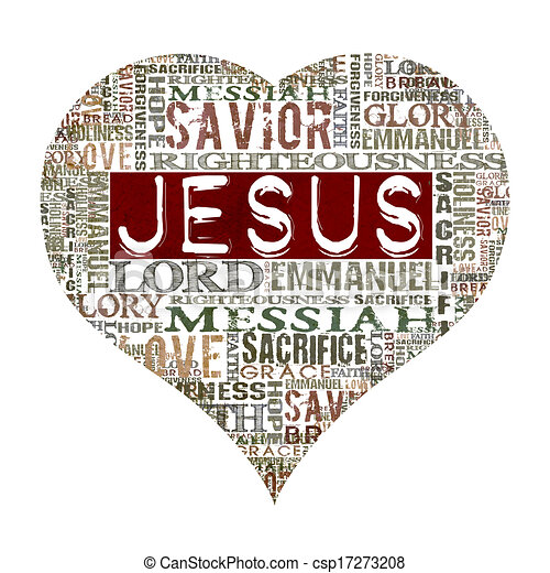 jésus, amour - csp17273208