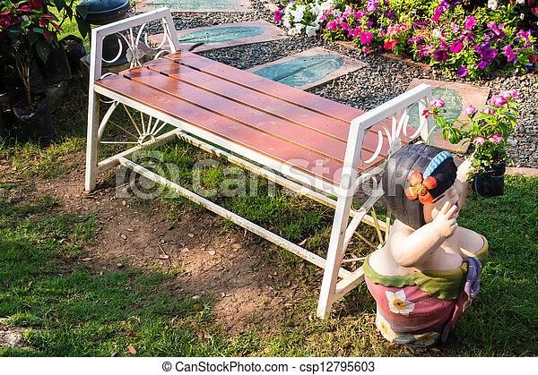 jardin - csp12795603