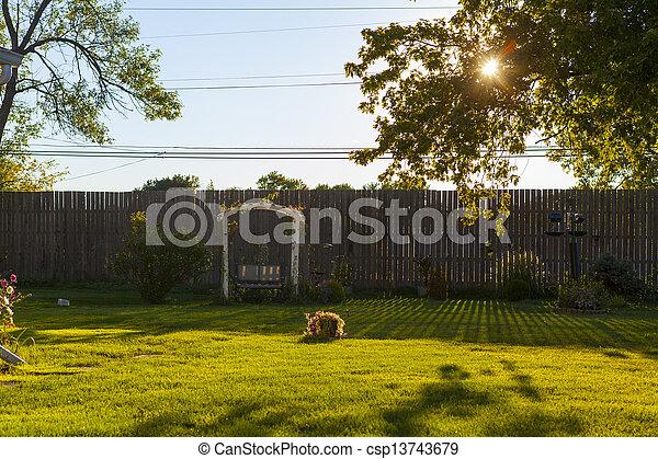 jardin - csp13743679