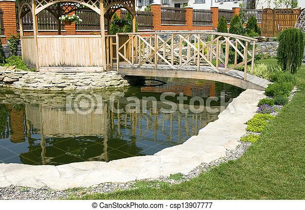 jardin - csp13907777