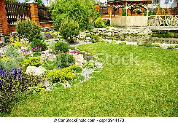 jardin - csp13944173
