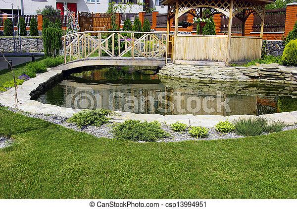 jardin - csp13994951