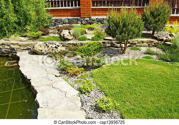 jardin - csp13936725