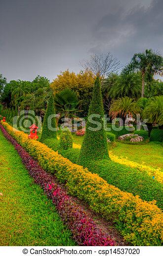 jardin - csp14537020