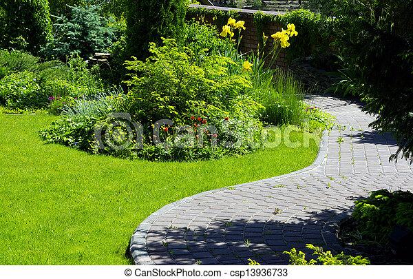 jardin - csp13936733
