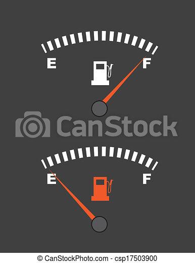 jauge, carburant - csp17503900