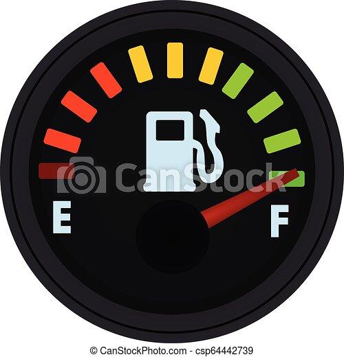 jauge, combustible - csp64442739