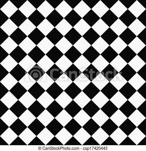 jeude dames, tissu, diagonal, arrière-plan noir, textured, blanc - csp17420443