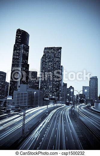 jonc, trafic, heure - csp1500232