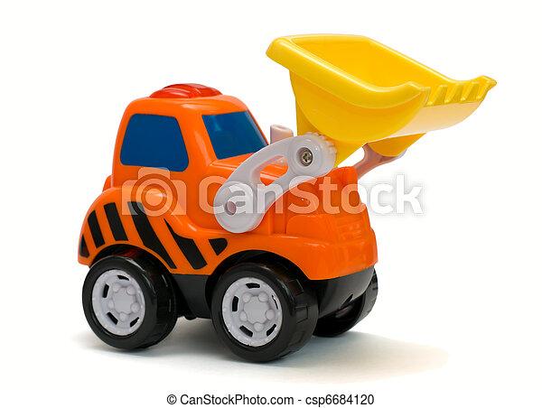 jouet, excavateur - csp6684120