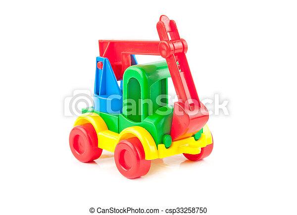 jouet, excavateur - csp33258750