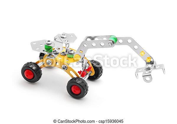 jouet, excavateur - csp15936045