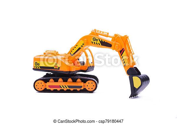 jouet, excavateur - csp79180447
