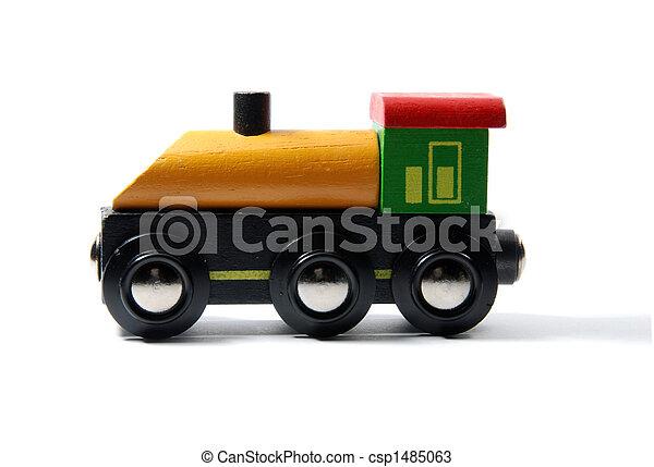 jouet, locomotive - csp1485063
