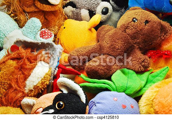 jouets bourrés - csp4125810
