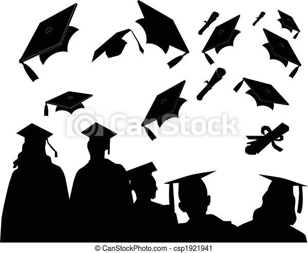 jour, remise de diplomes - csp1921941