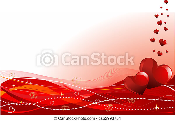 jour valentine, fond - csp2993754