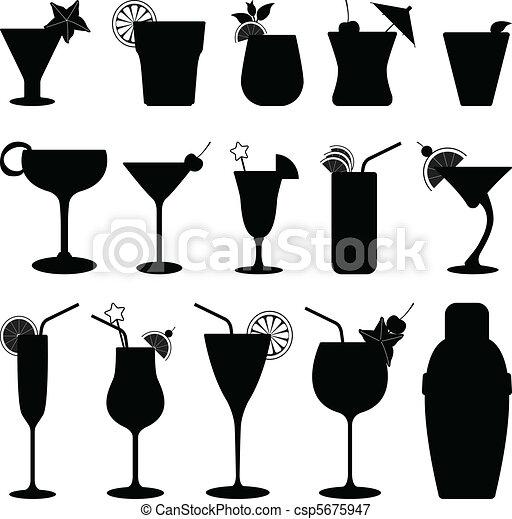 jus, cocktail fruit, boisson - csp5675947