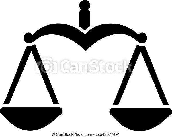 justice, balance équilibre - csp43577491