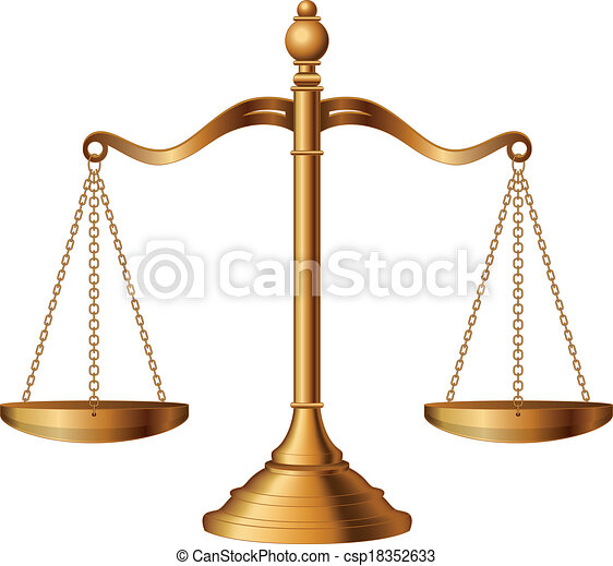 justice, balances - csp18352633