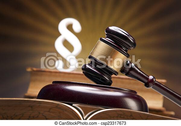 justice!, maillet - csp23317673