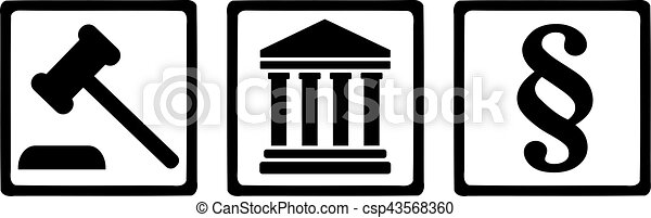 justice, symboles - csp43568360