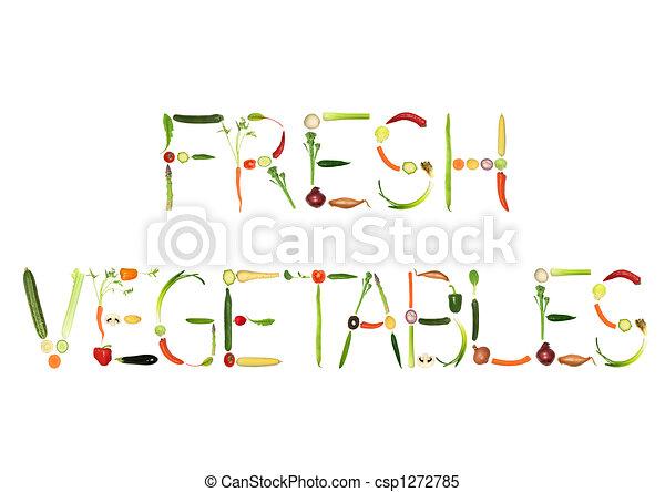 légumes frais - csp1272785