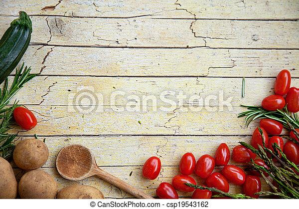légumes frais, organique - csp19543162