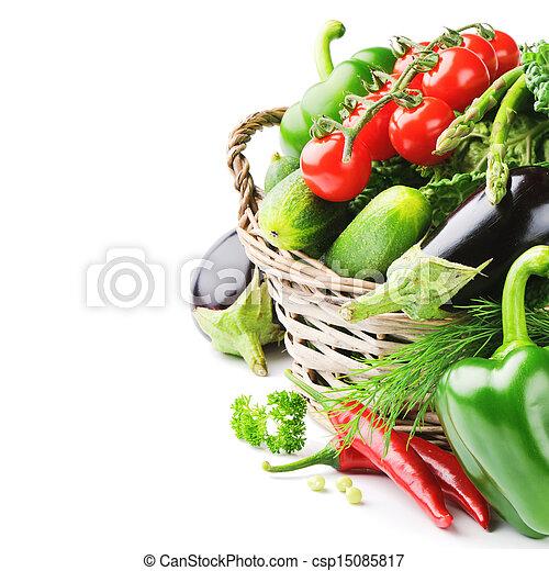 légumes frais, organique - csp15085817