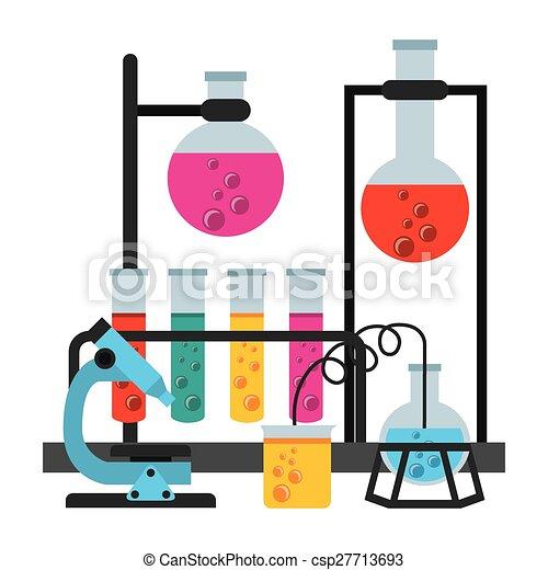 laboratoire, scientifique - csp27713693