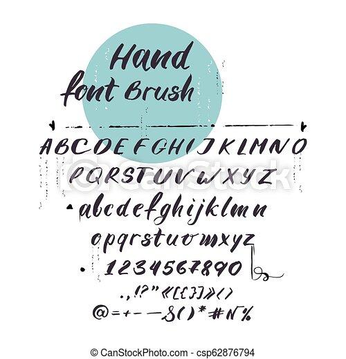 latin, lettres, alphabet, vecteur, font., cursif, manuscrit - csp62876794
