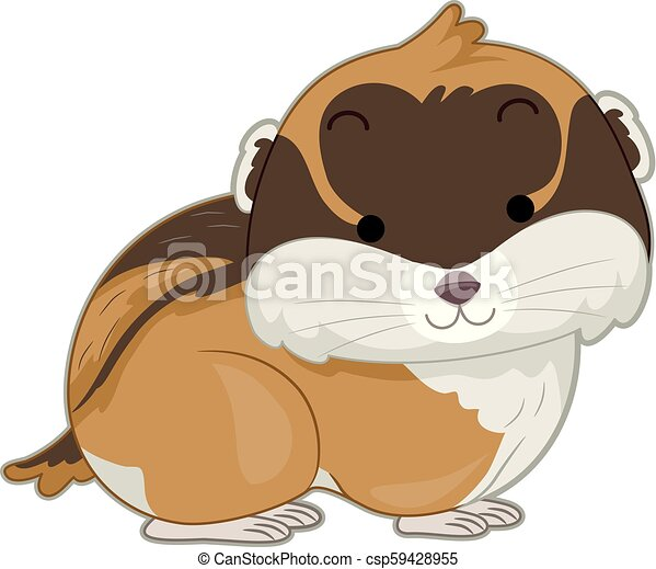 lemming, illustration - csp59428955